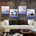 地中海裝飾畫客廳現代無框畫走廊壁畫