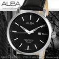 CASIO手錶專賣店 國隆 ALBA精工 雅柏手錶 AS9665X1 英倫都會皮帶男錶 全新品 開發票 保固一年