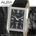 CASIO手錶專賣店 國隆 ALBA精工 雅柏手錶 AG8297X1 優雅方形紳士男錶 全新品 開發票 保固一年