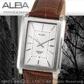 CASIO手錶專賣店 國隆 ALBA精工 雅柏手錶 AG8295X1 時尚方形霸氣型男錶 全新品 開發票 保固一年