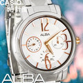 CASIO 時計屋 SEIKO ALBA亞柏 AP6103X1 典雅玫瑰金裝飾女錶 防水50米 全新有保固 附發票~