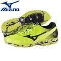【美津濃MIZUNO】一般型WAVE RIDER 17 緩衝型慢跑鞋 (螢光黃) J1GC140875 (一般楦頭)