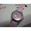 Hello kitty watch 可愛時尚特殊造型皮帶腕錶HK805LWPP (神梭鐘錶)