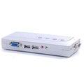 [良基電腦] HANWELL 捍衛科技 USB-SP04A CM-1504UA 4-Port 桌上型 USB KVM 電腦切換器 ( 含喇叭 / 麥克風 )