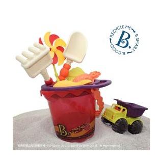 【B.Toys】玩沙酷奇桶(沙趣多多9件組) 有二款可選擇