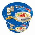 康師傅鮮蝦魚板湯麵-12桶/箱-批發價供應