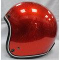 《福利社》商楊 SY 812 812A 金蔥 橘色 騎士帽 復古帽 4分之3 半罩 安全帽 三角 內襯全可拆