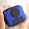 宅包包。kipling聯名JCDC藍綠配色零錢包-免運