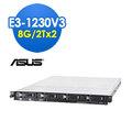 ASUS華碩 RS300-E8 E3-1231v3 8G/2Tx2
