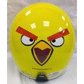 《福利社》商楊 SY 812 812A 憤怒鳥 黃鳥 騎士帽 復古帽 4分之3 半罩 安全帽 三角 內襯全可拆