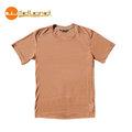 【Wildland】71656 男椰炭圓領配色排汗衣 橘色 ( M x 1)