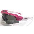 【凹凸眼鏡】ADHOC-K-NIGHT-W 軍用級運動PZ偏光太陽眼鏡(桃紅/白色)~加贈夜視鏡片(黃片)~~六期零利率~