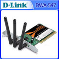 【全新附發票】D-Link友訊 802.11n draft PCI無線網路卡 DWA-547【超頻電腦】