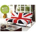 【YUDA 】沙發床/ 英國造型沙發床 床尾沙發 布套可拆洗 (J8F 206-2) 新竹以北免運費