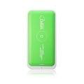 (亞果元素)Qi 認証無線充電Adam Power Ponte Air 無線充電行動電源 AEP-5000WP青檸