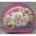 《福利社》華泰 KK K-822S GW-06 喜洋洋 粉 卡通半罩式 兒童雪帽 小小童 幼兒童 大頭寶寶 卡通 輕量 CNS 安全帽 ┐贈送 抗UV鏡片┌