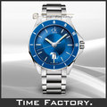 【時間工廠】 CK Calvin Klein 時尚藍面鋼帶錶 K2W21Z4N