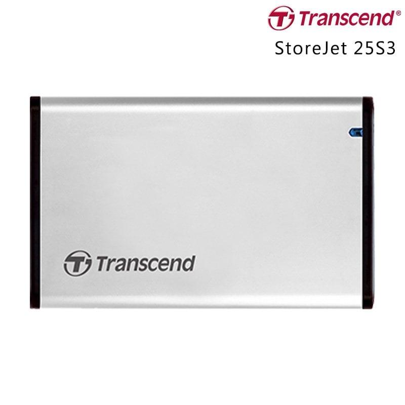 創見 Transcend 25S3 U3 2.5吋硬碟外接盒