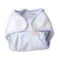 奇哥 可調式防水透氣尿布褲(藍/粉)