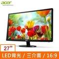 ACER S271HL (Dbid ) VA廣視角 27吋LED薄型 3介面顯示器