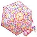 COACH 63537 彩色蠟筆塗鴉C Logo輕量攜帶型晴雨傘