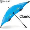 【黎陽戶外用品】紐西蘭 BLUNT 保蘭特CLASSIC 自動開合直傘-大號 (風格藍) 抗11級強風/專利傘尾圓邊/抗UV/防反轉/自動傘/晴雨傘 C01