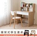 《Hopma》開放式書架型書桌-二色可選
