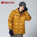 【贈保暖圍巾】【Marmot】男 防風羽絨外套│ 保暖外套 70630『黃銅』