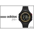 【時間道】 〔adidas。錶〕三線圓黑面電子腕錶 – 黑面金框(小) (ADP6138)免運費