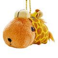 kapibarasan 水豚君變裝長頸鹿吊飾公仔。水豚君