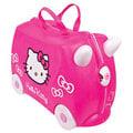 英國Trunki,世界首創超可愛多用途可乘坐趣緻兒童行李箱登機箱豪華版---新款超可愛 Hello Kitty特別款,限量,買再送