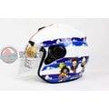 [中壢安信] LUBRO X 航海王 白藍 RACE TECH 2 半罩式安全帽 安全帽 海賊王