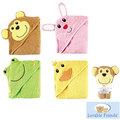 [Mamae]Luvable Friends兒童專用浴袍~卡通可愛動物兒童動物造型浴袍/抱被/全棉浴巾/包巾/沙灘巾 小鴨/兔子/青蛙/猴子款