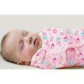 美國Summer Infant SwaddleMe - 純棉 懶人嬰兒包巾/可調式簡易包巾~小號~【甜蜜貓頭鷹】㊣原廠授權總代理公司貨