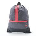 ★大包小包★【ADIDAS】蜂巢系列簡約束口輕便後背包(灰色) M69614