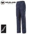 丹大戶外用品 荒野【Wildland】男款鬆緊帶輕量保暖長褲/多口袋/吸濕透氣/抗靜電/ 型號0A12336-72 深藍