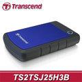 Transcend 創見 StoreJet 25H3B 2TB USB3.0 軍規級 防震行動硬碟 (TS2TSJ25H3B) 2T SJ25H3B