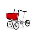 【紫貝殼●展示出清】『GA01-12』荷蘭 Taga bike 二合一親子腳踏車專用 Eco Shopping Basket 超大置物籃(不含車架)【公司貨】
