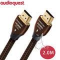 【A Shop 高雄店】美國 Audioquest HDMI Chocolate 數位線 2M支援4K 3D