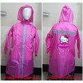 《福利社》佐海 W009 HELLO KITTY 粉紅色 兒童 TOMACAT 尼龍 一件式 台灣MIT製造 全開式 雨衣 連身雨衣