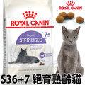 法國皇家 S36+7歲以上絕育貓飼料 1.5kg