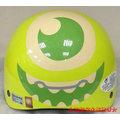 《福利社》智同 EVO 112 迪士尼 怪獸電力公司 大眼怪 麥克華斯基 綠色 半頂式 半罩復 雪帽 兒童 小童 安全帽 機車安規 48-53CM
