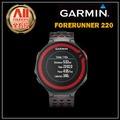 【Garmin】【全方位運動戶外館】Forerunner 220 進階級跑步腕錶 - 黑紅 (010-01147-61)