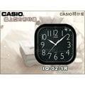 CASIO 時計屋 CASIO 掛鐘 IQ-02-1R IQ-02S-7D 全新品 保固一年 開發票