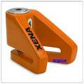 《育誠科技》『XENA X1 橘色』碟煞鎖/送收納袋/5mm鎖心/通用款機車鎖/另售鋼甲武士 雙子星 東興碟剎鎖