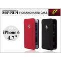 【免運】法拉利 原廠授權 iPhone 6 (4.7吋) F12 真皮 側開式皮套 側翻保護套 先創公司貨