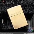 【詮國】Zippo 美系經典打火機 - Solid Brass 純銅素面含字樣款 - 高磨光鏡面處理 / NO.254 / ZP375