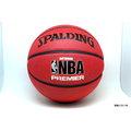 【圓融文具小妹】 斯伯丁 SPALDING NBA Premier 籃球 2014 # 7 室外球 附 球針 球袋 SPA83003