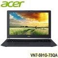 【四核獨顯】ACER VN7-591G-73QA 15.6吋筆電 15.6/GTX860-2G;CI74720HQ;8G;F80128S3+1000G;NA;W8.1/UN.MQLTA.007