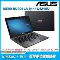 【180度翻轉】ASUS M500-BU201LA-0111C4210U 商用筆電 BU201LA/12.5/i5-4210U/4G/500G/NoDVD/Win8.1 DG Win 7 64/3-3..